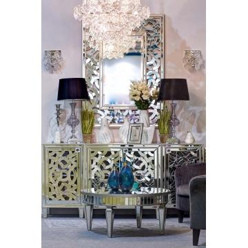 Зеркало декоративное прямоугольное резное kfh1626