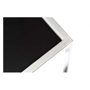 Стол журнальный приставной серебряный 13rxnt5076m-silver