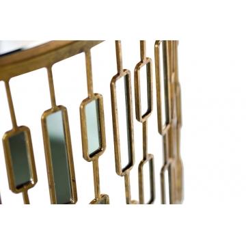 Консоль с зеркальными вставками 19-oa-5835