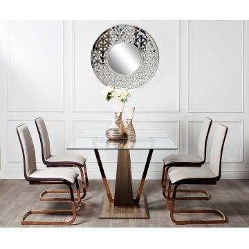 Стол обеденный со стеклом 30f-907