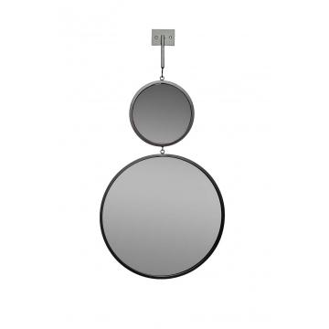 Зеркало двойное с планкой 19-oa-6003-1bl