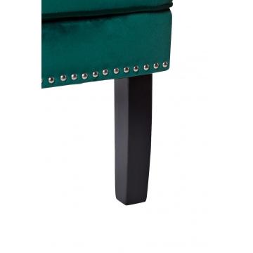Кресло бархатное зеленое (с подушкой) 24yj-7004-07342/1