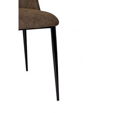 Стул коричневый (экокожа) 43sw-dc827c