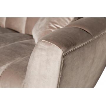 Диван трехместный велюровый серый zw-81103 gre