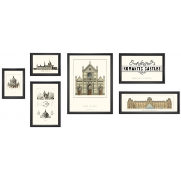 Комплект из шести постеров IMMAGINE, FRATELLI BARRI
