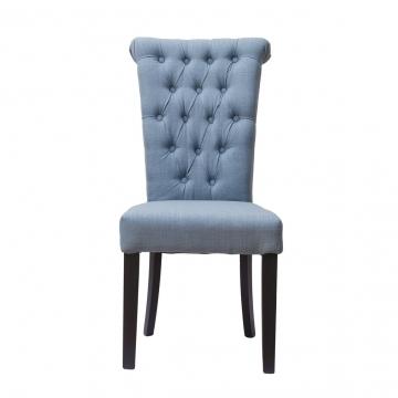 Стул серо-голубой для гостиной