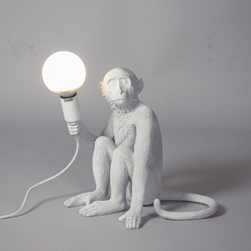 лампа настольная The Monkey Lamp Sitting Version