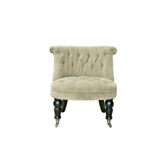 Кресло для гостиной низкое бежевое pjc742-pj842