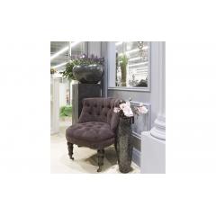 Кресло для гостиной низкое фиолетовое pjc742-pj843