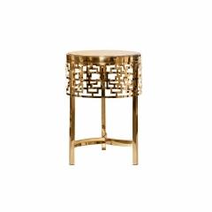 Журнальный столик круглый золотой 13rxfs5080m-gold