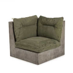 Кресло CONCRETE CORNER CHAIR