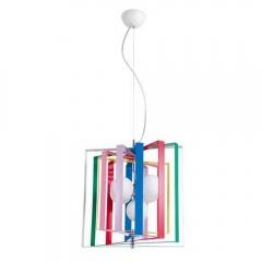 Подвесная люстра Crystal Lux Rainbow Cube SP5