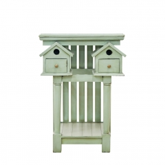 BIRDHOUSE SIDE TABLE