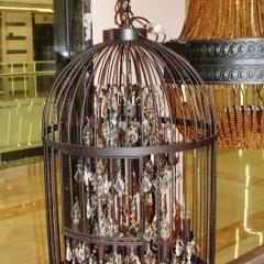 люстра Vintage birdcage 5006–D6+6