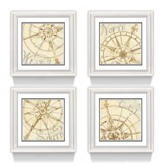 Комплект из четырех постеров IMMAGINE, FRATELLI BARRI