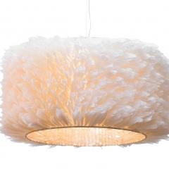 Светильник потолочный из перьев k2ск1092a
