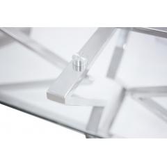 Стол журнальный металлический 13rx3012-silver
