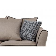 Диван двухместный с подушками (бежевый) 28-911-2BG2