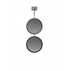 Зеркало двойное с планкой 19-oa-6003-3bl