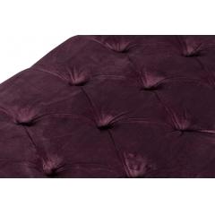 Банкетка велюровая фиолетовая neil 5825-115
