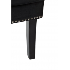 Кресло с подушкой черное 24yj-7070-07329