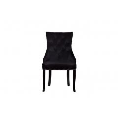 Стул велюровый черный 24yj-236-07329