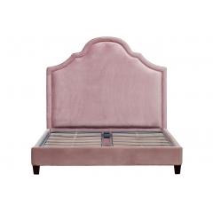 Кровать двуспальная розовая dy-120118