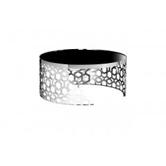 Стол журнальный круглый серебряный 13rxct8012-silver