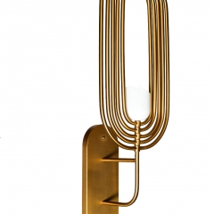 Бра металлическое золотое k2gdm950w-1g