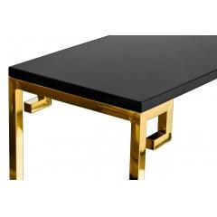 Консоль с черной столешницей 13rxc3048-gold