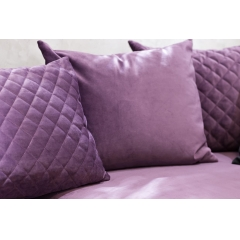 Диван трехместный велюровый фиолетовый GT-Aristocrat Lux-3-VLT