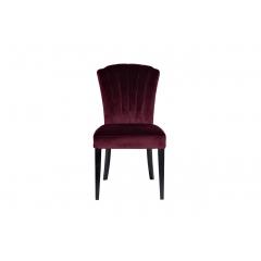 Стул велюровый бордовый pjc776-pj604
