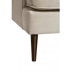 Диван трехместный велюровый (цвет слоновой кости) 48my-1183-3 ivo brs