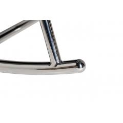 Кресло-качалка велюровое бирюзовое 48my-2569 tur slv