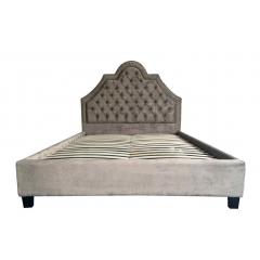 Кровать двуспальная с мягким изголовьем n-province 767-4