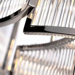 Светильник потолочный металлический хром 20md3515-5ni-s