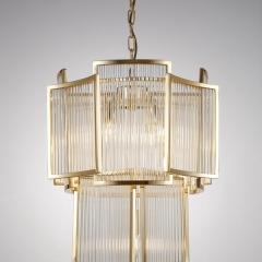 Светильник потолочный металлический золотой 20md3515-5gold-s
