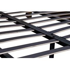 Кровать с зеркальными вставками (кремовая) kfc1159-3