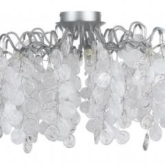 Потолочная люстра Crystal Lux Tenerife PL8 Silver