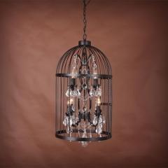 люстра Vintage birdcage 5006–D4+4