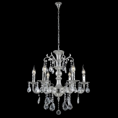 Подвесная люстра Crystal Lux Sunshine SP6 Silver