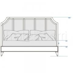 Кровать с решеткой SALERNO, FRATELLI BARRI