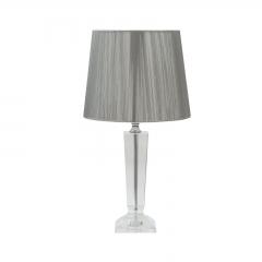 Настольная лампа из хрусталя