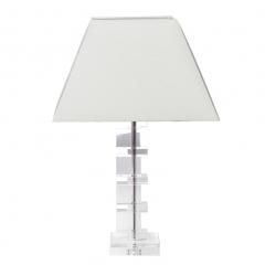 Лампа настольная хрустальная