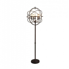 IRON ORB FLOOR LAMP