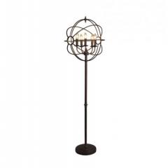 IRON ORB FLOOR LAMP