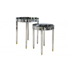 Комплект из 2-х зеркальных столов