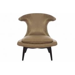 Кресло оригинальное бежевое