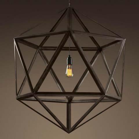 люстра Steel polyhedron 5018–D1–1