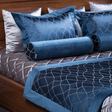Boca комплект покрывало с саше и 7 подушками TEXTILE, FRATELLI BARRI